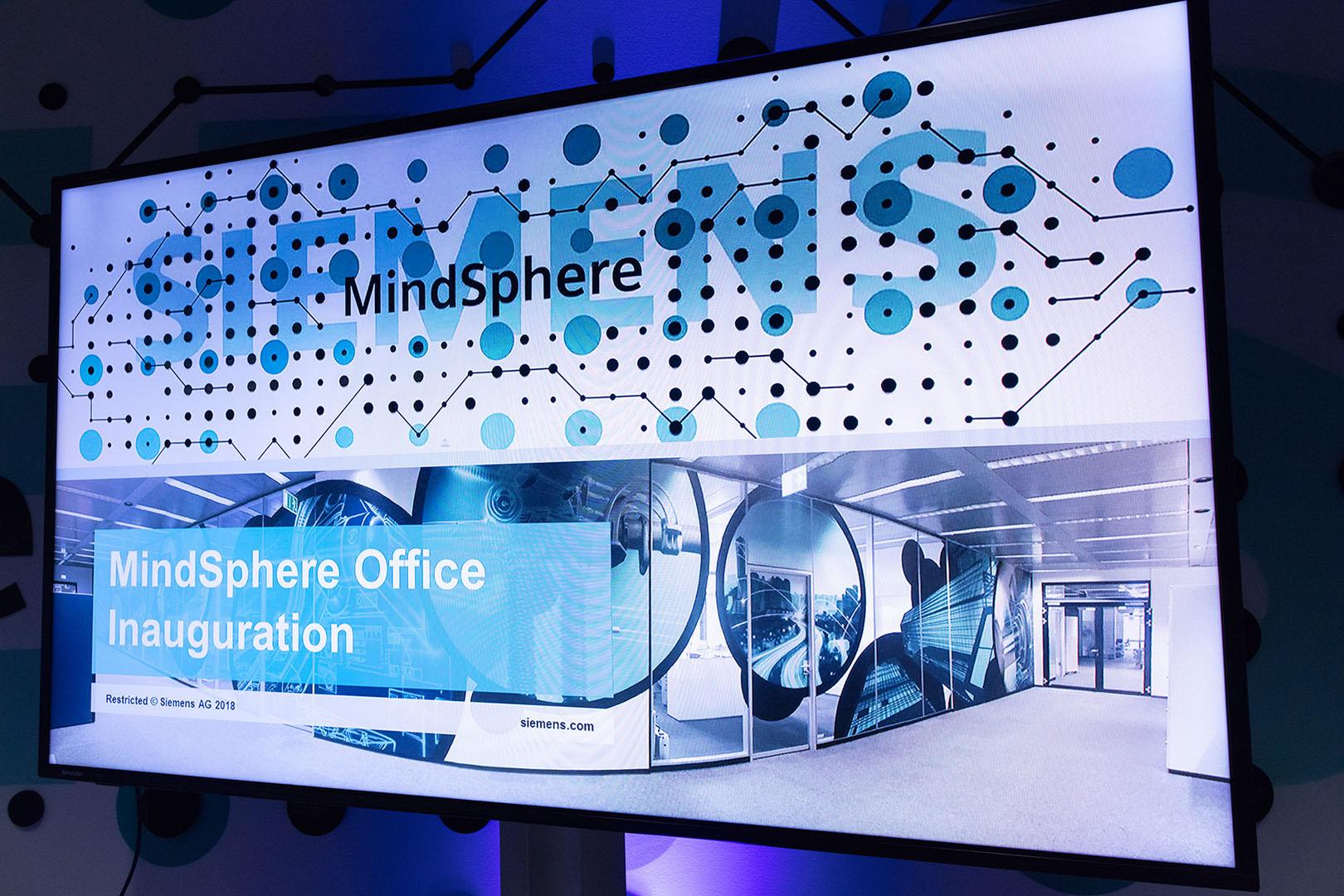 Siemens Eröffnungsevent Mindsphere